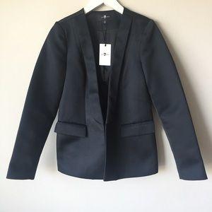 7 For All Mankind Tuxedo Jacket